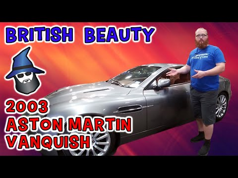 The CAR WIZARD reviews an awesome 2003 Aston Martin Vanquish