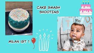Milans Cake Smash Shooting 😍 | Backen | Seine Reaktion | 1. Geburtstag…