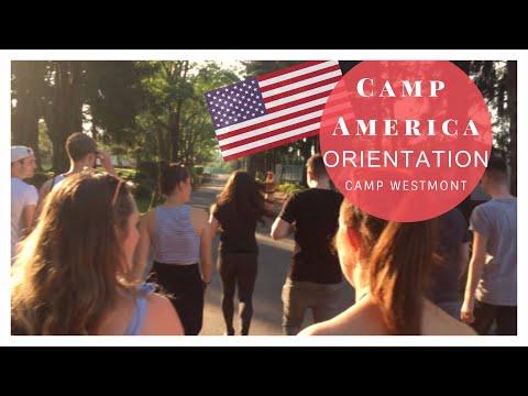 Camp America Storyteller 2017   Vlog 1   Orientation Week   Camp Westmont
