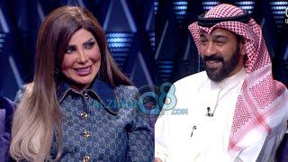 لقاء الفنانة إلهام الفضالة و الفنان شهاب جوهر في برنامج (ليالي الكويت) عن مسلسل أمينة حاف