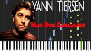 Yann Tiersen - Rue Des Cascades [Synthesia Tutorial]