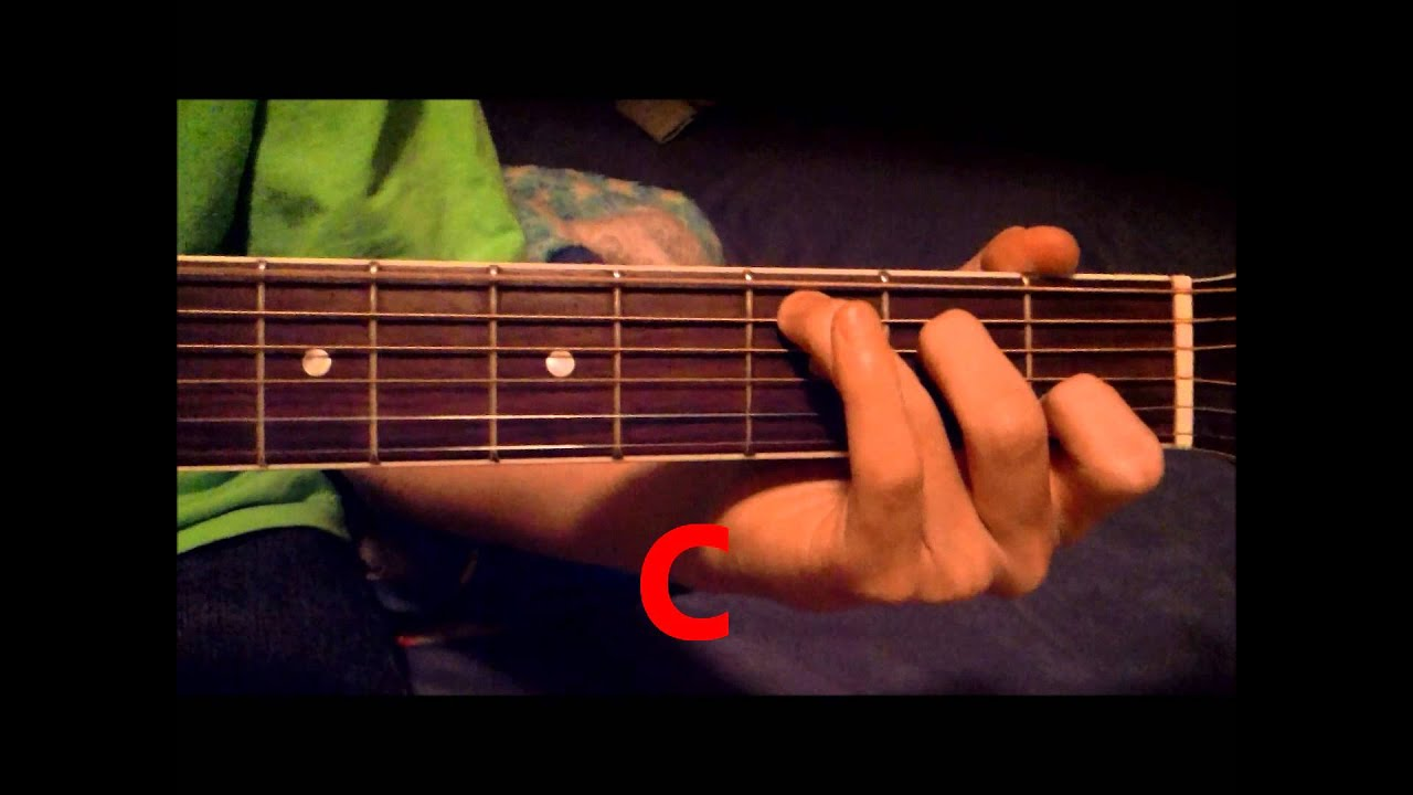 How to play perfect two by auburn guitar Lesson   YouTube