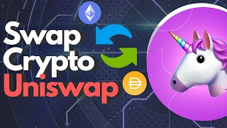 How to use Uniswap to exchange Crypto - (You can also Send and Pool Crypto) -  DeFi Project