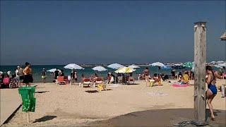 I love the beaches of Netanya Israel