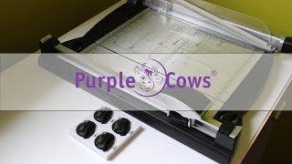 Purple Cows Trimmer - резак для СКРАПБУКИНГА. Обзор. Плюсы и Минусы
