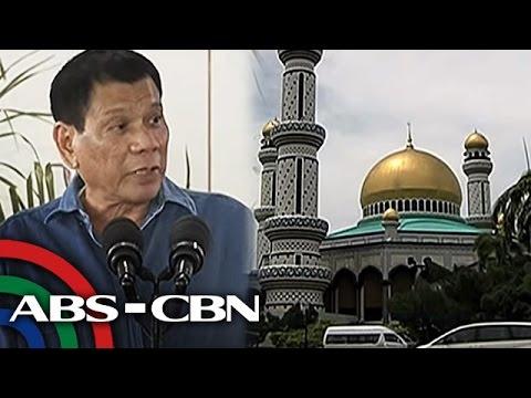TV Patrol: Relasyon ng Pilipinas at Brunei, inaasahang titibay sa pagbisita ni Duterte