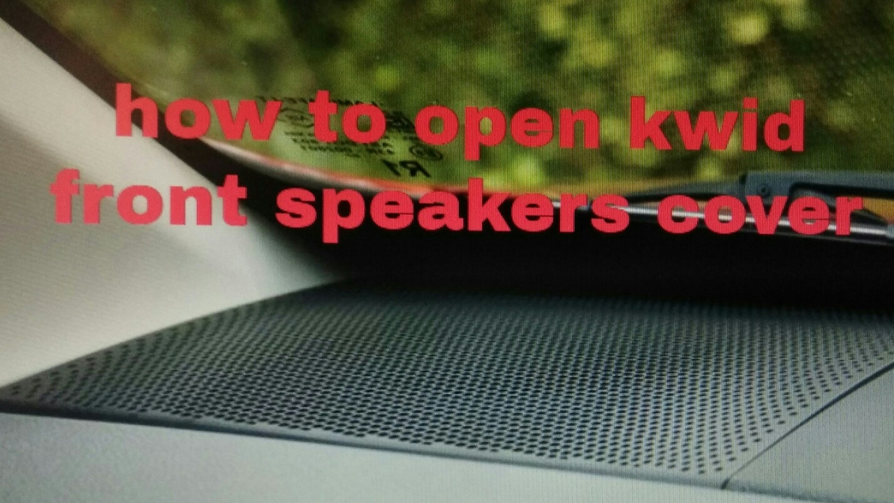 Renault Kwid How To Open Front Speakers Cover Hindi Youtube Crutchfield Subwoofer Wiring Diagram