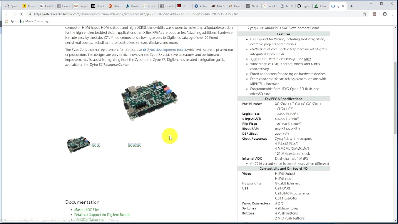 Learn to blink LEDs with PL on Digilent Zybo Z7 Xilinx Zynq FPGA board from  scratch