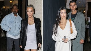 Kim Kardashian Getting Love From Friends And Family During 37th Birthday Dinner
