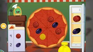 Counting Pizza Part Games | Free Educational Online Game | education.com