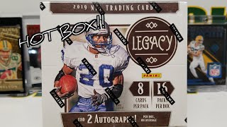 2019 Panini Legacy Football Hobby Box Opening. 2 Autos. HOT BOX!!!