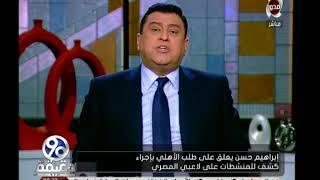 فيديو| إبراهيم حسن عن المنشطات: هتعمل إيه مع «اللاعب الحمار»