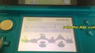 Comment utiliser les fonctions RTS et code de triche (AR) de la carte R4 Gold 3DS