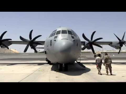 Horn of Africa Combat Camera   Personnel from the 75th Expeditionary Airlift Squadron, DJIBOUTI