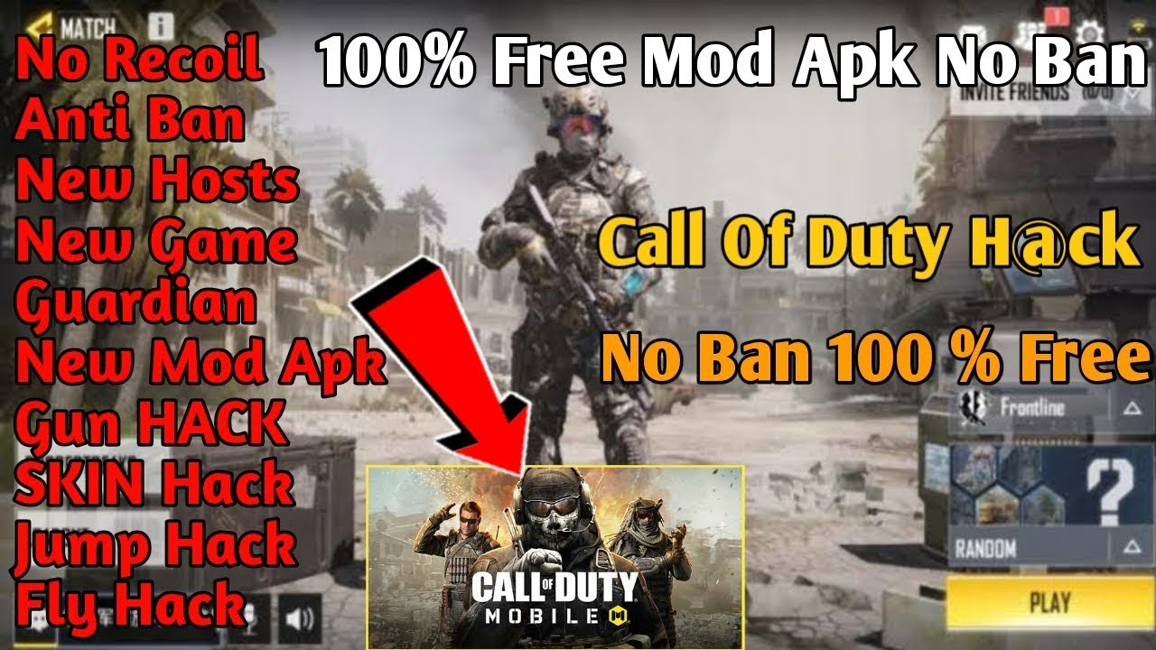 How to hack call of duty mobile on Android | call of duty mobile mod apk no  ban -
