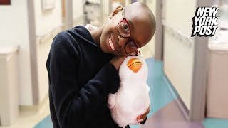 Inventor Builds Robotic Stuffed Animals for Kids with Cancer | Extraordinary People | New York Post