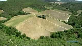 Прекрасная Италия: Тоскана - от Монтериджони до Флоренции (Italy Toscana Monteriggioni To Firenze)