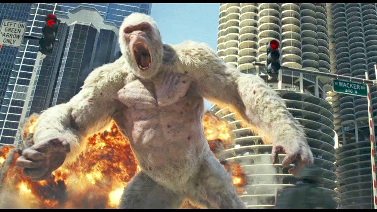 Rampage: Destruição Total - Trailer HD Dublado [Dwayne Johnson, Naomie Harris]