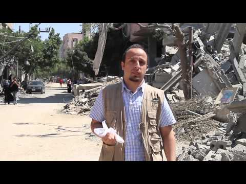 IR Message from Shujaeya Gaza 26 July 2014