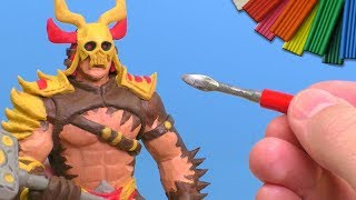 Лепим Шао Кана из игры Mortal Kombat 11 | Shao Kahn / Видео