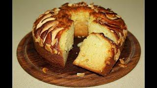 Лимонный кекс. С творогом и яблоками. Творожное тесто. Моя Dolce vita