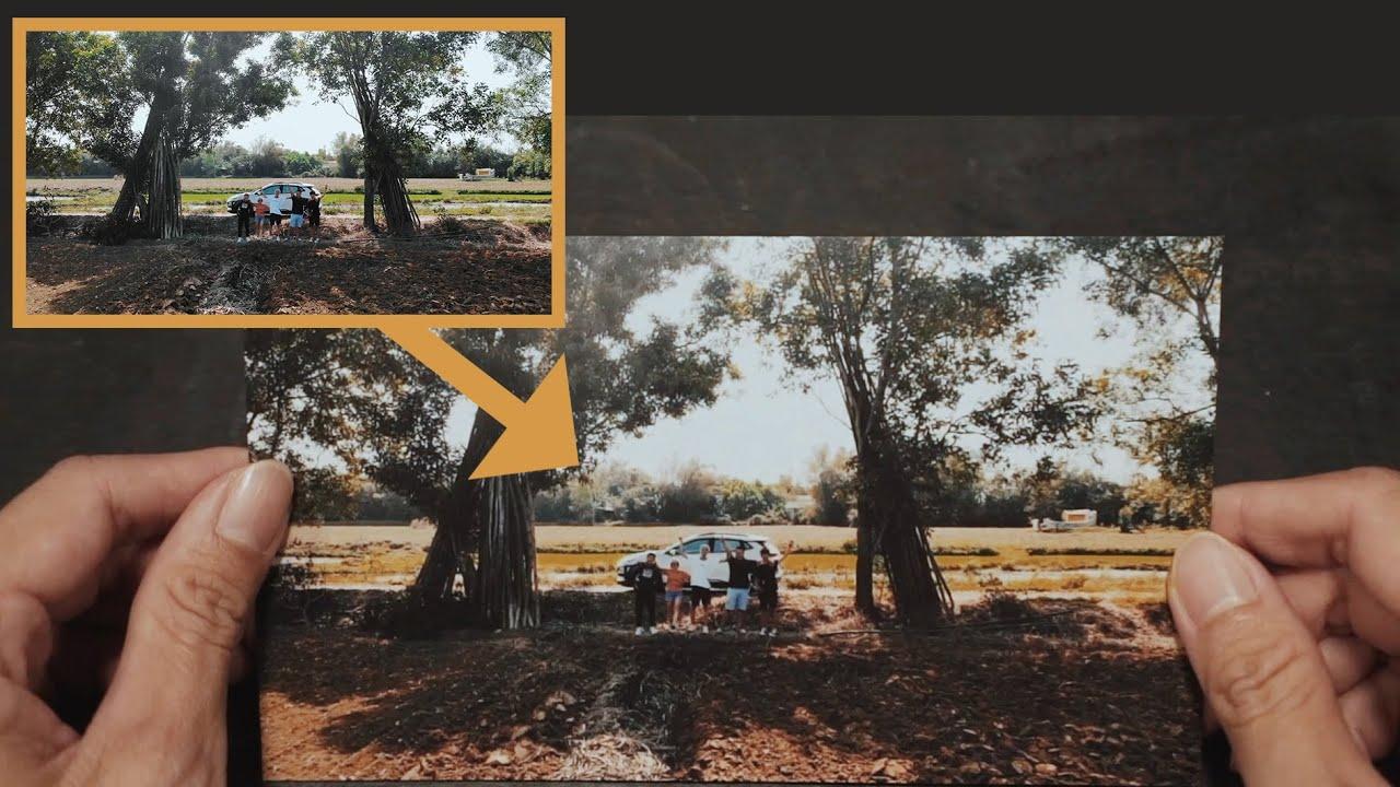 Hiệu ứng biến đoạn clip thành tấm hình