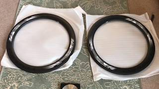 Yoeleo Chinese Carbon 60mm Ghost Clincher Disc Brake Rims unboxing