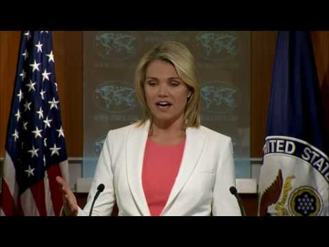 Department Press Briefing - August 3, 2017