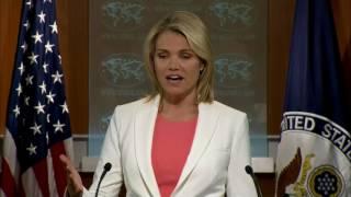 Department Press Briefing - August 3, 2017