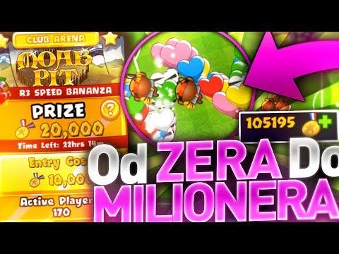 "Bloons TD Battles ""od zera do milionera"" odc.17- Gram BANANZE za 10 000 !"