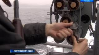Тайники с оружием и магнитные мины искали бойцы спецподразделения ТОФ в одной из бухт Приморья