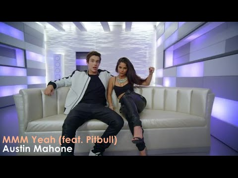 Austin Mahone - MMM Yeah Ft. Pitbull  [Lyrics + Sub Español]