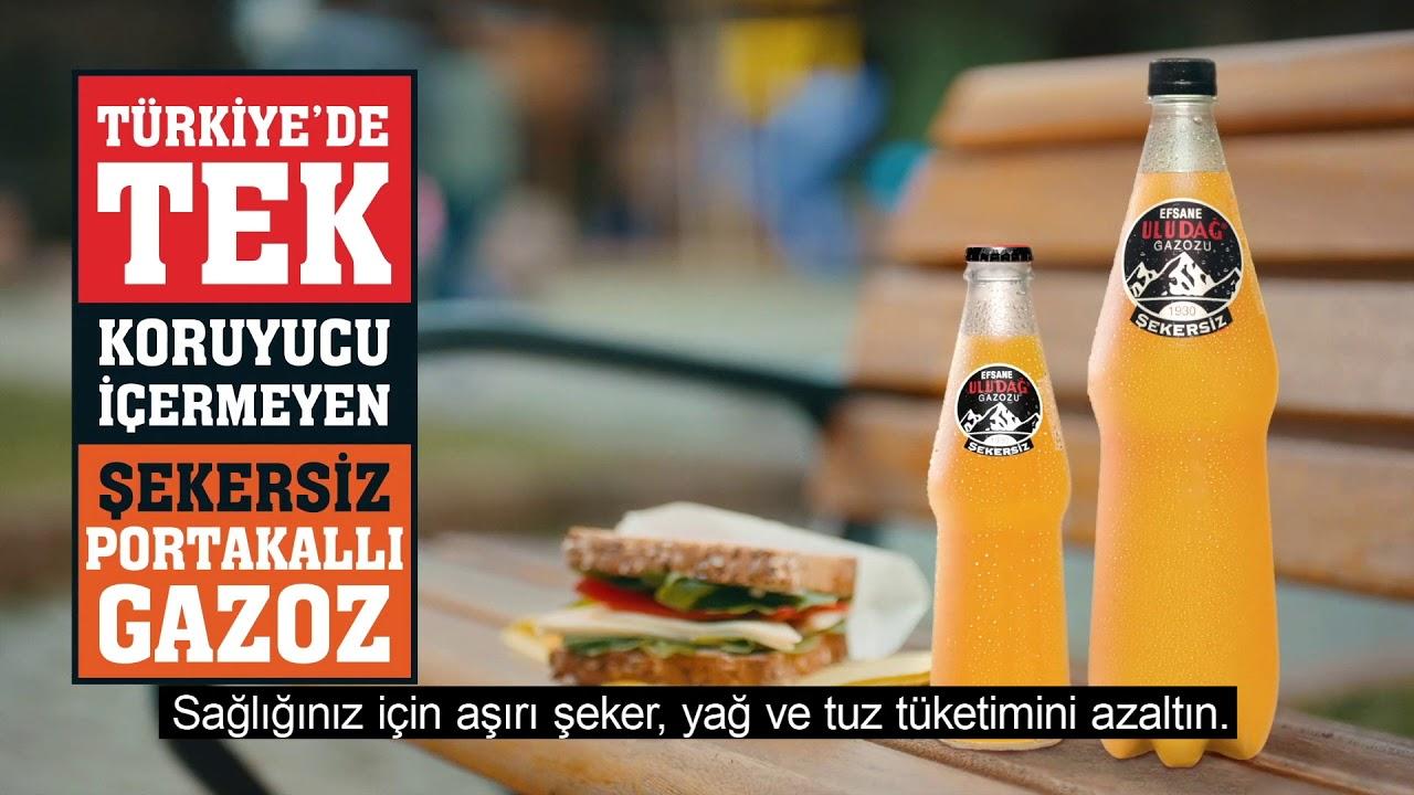 Efsane Uludağ Şekersiz Portakallı!
