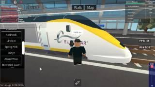 Roblox Terminal Railways Clase 373 Eurostar Llega y sale en Northwell
