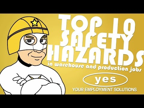 Top 10 Safety Hazards in Warehouse & Production Jobs