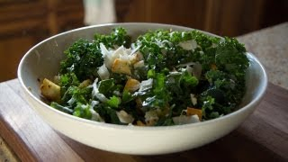 Kale Salad - Let's Cook With Modernmom