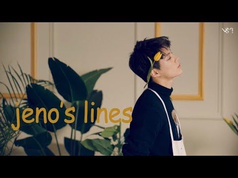 every nct dream mv but it's only jeno's lines