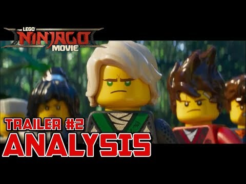 SDCC Ninjago Movie Trailer! - Unscripted Analysis - The LEGO Ninjago Movie (2017)