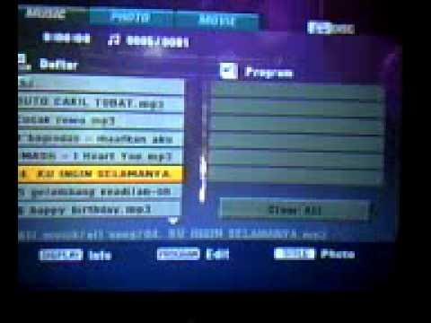 Cara Menyetel Dvd Menggunakan Usb Flash Disk Youtube