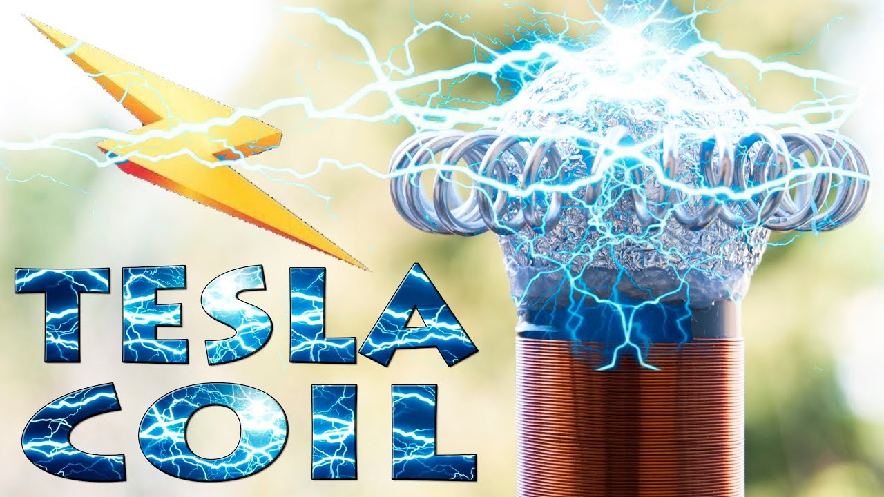 Kablosuz Enerji Tesla Bobini