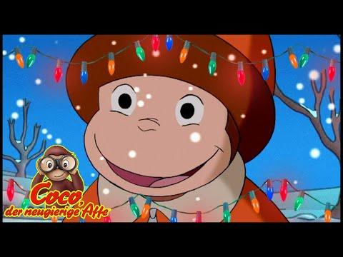 Coco der Neugierige 🎄Affe Ein Schal im Frühling ⛄Weihnachten ⛄Ganze Folgen Cartoons für Kinder