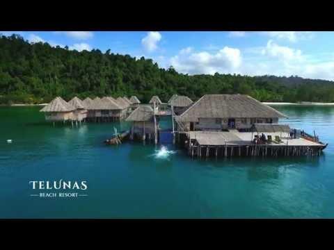 Telunas Beach Resort - aerial shoot
