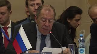 С.Лавров на заседании Организации Черноморского экономического сотрудничества