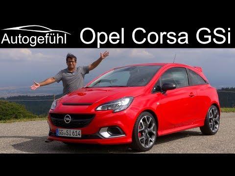 Opel Corsa GSi FULL REVIEW - Vauxhall Corsa GSi - Autogefühl