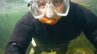 Подводная охота. Карачуновское водохранилище