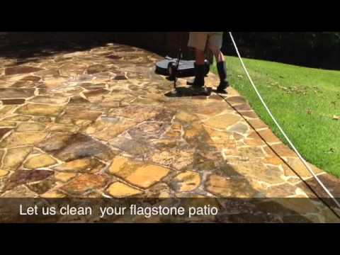 How To Pressure Wash A Flagstone Patio