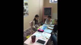 Урок по английскому языку на курсе