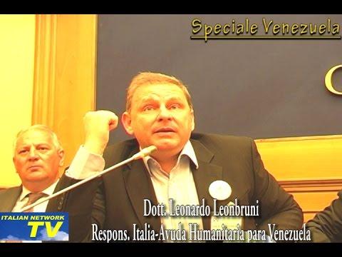 (ITALIANNETWORK TV) SOS VENEZUELA: 10 MILIONI DI ITALIANI IN GRAVI DIFFICOLTA'. MANCANO MEDICINALI