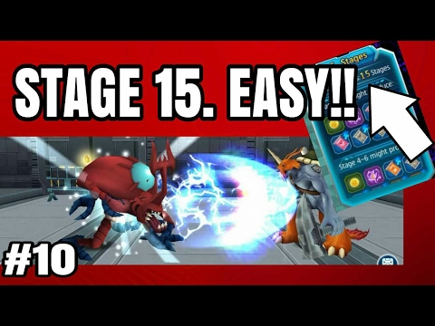 TIPS MENYELESAIKAN DRAK TOWER, STAGE 15 CLEAR ✔- DIGI CHRONICLE - INDONESIA ANDROID GAMEPLAY