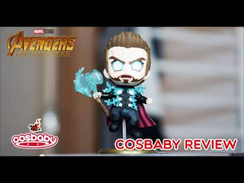 Thor Fighting Version Avengers Infinity War Cosbaby Hot Toys Review Unbox
